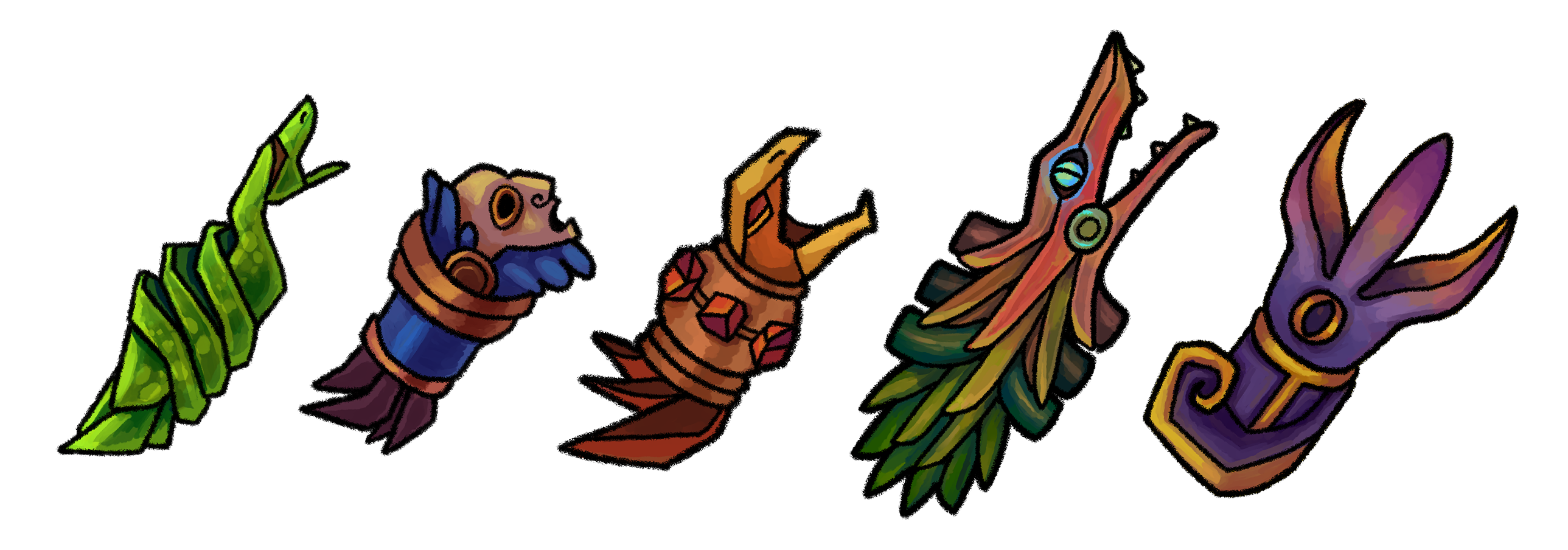 Elfscape weapons