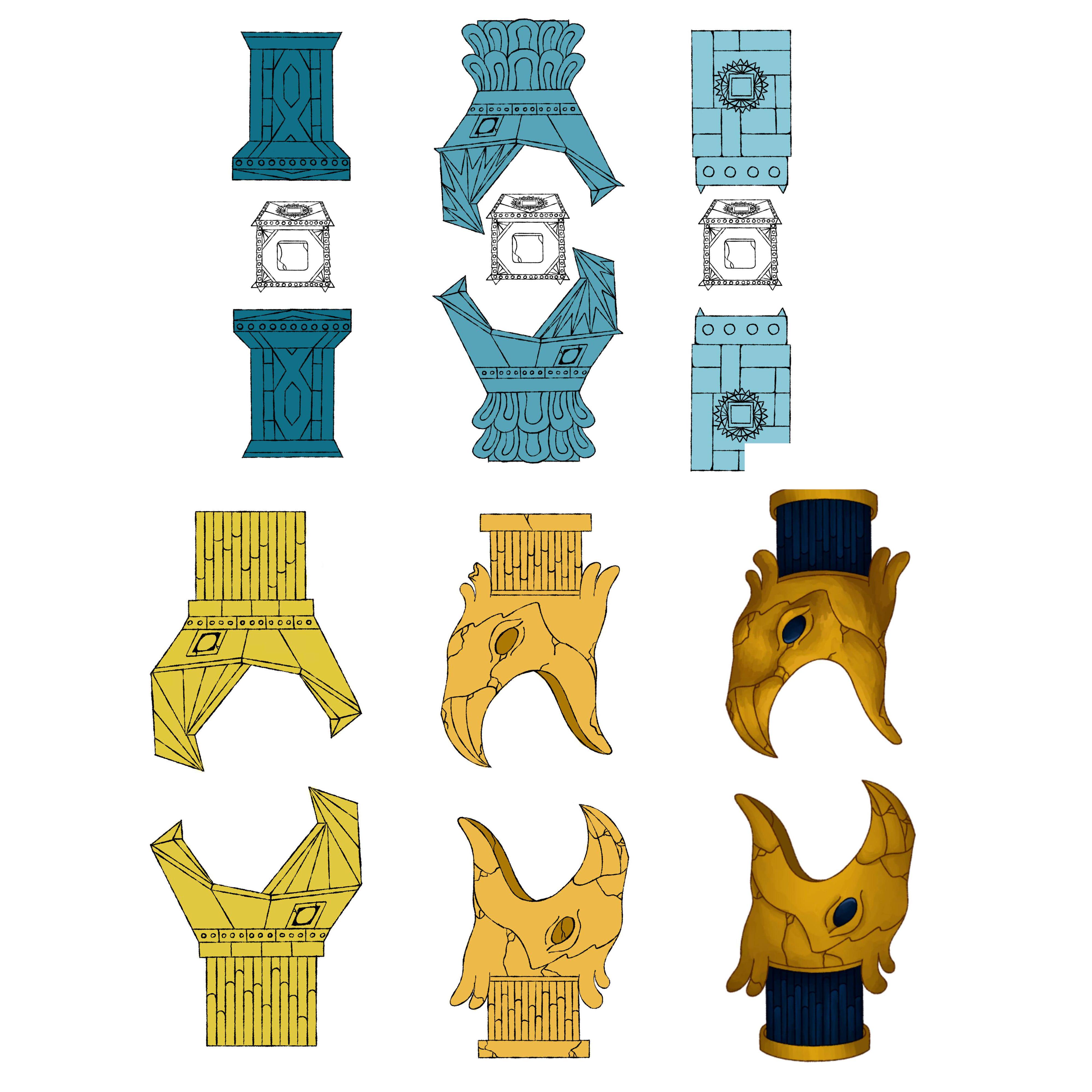 Mesopotamia inspired elements
