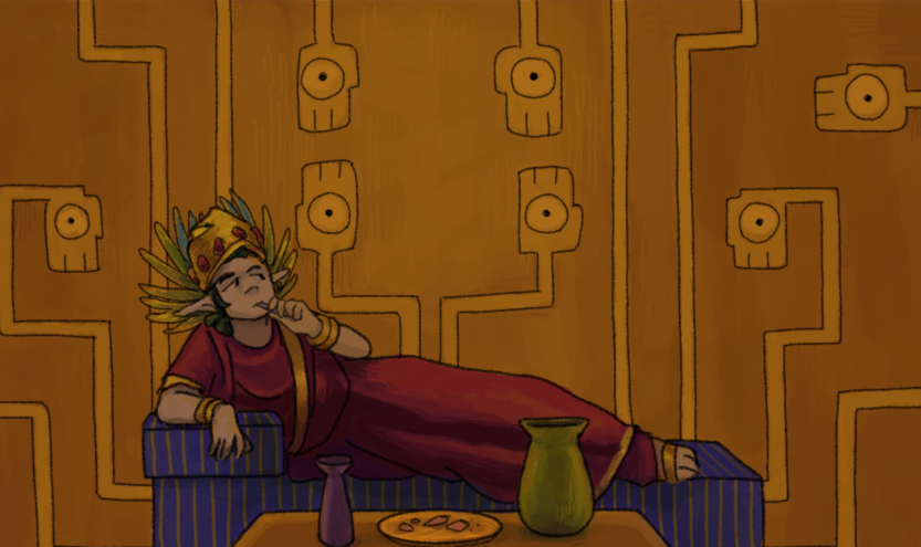 Bored elven prince