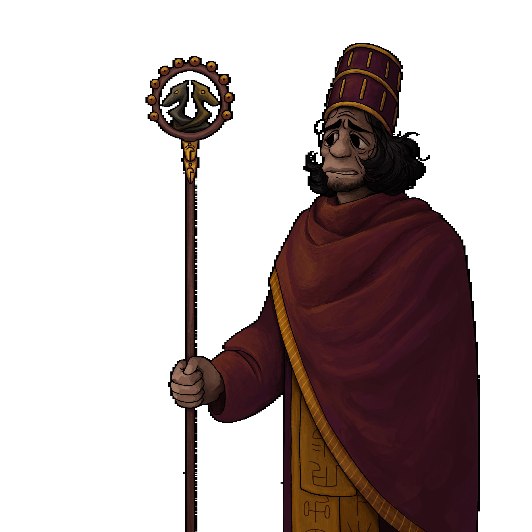 High priest - default face