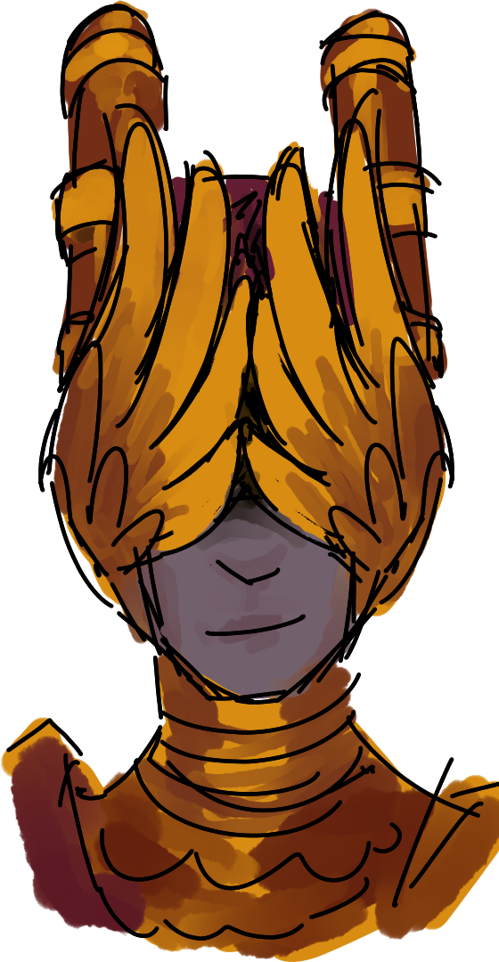 Guardian - face detail (coloured)