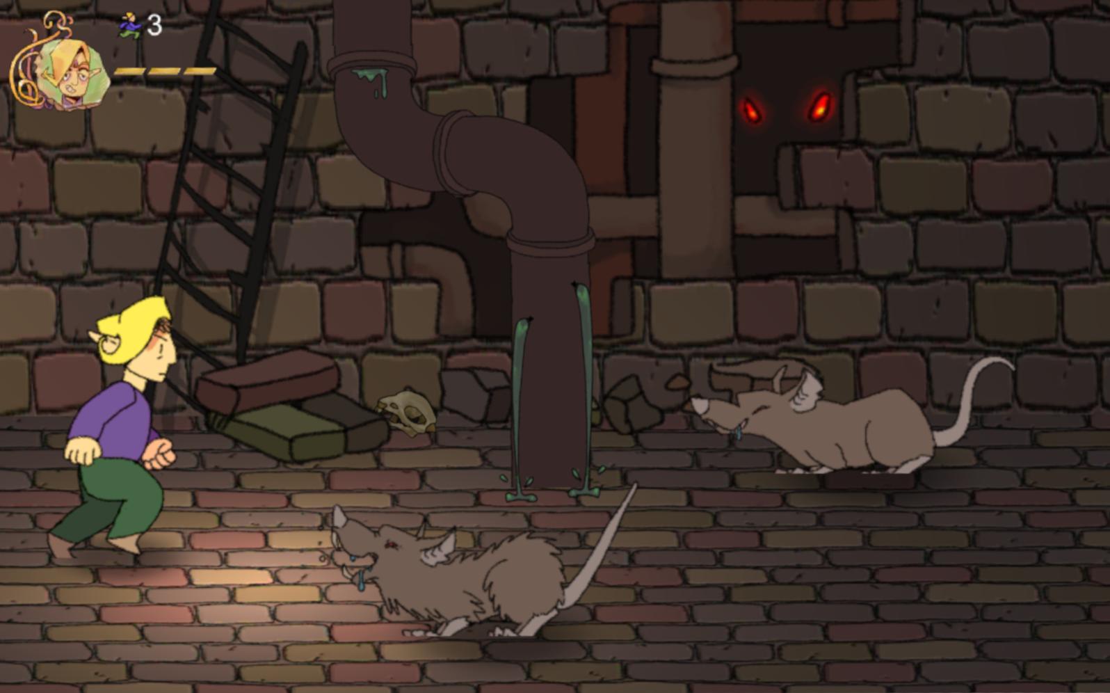 first game screenshot