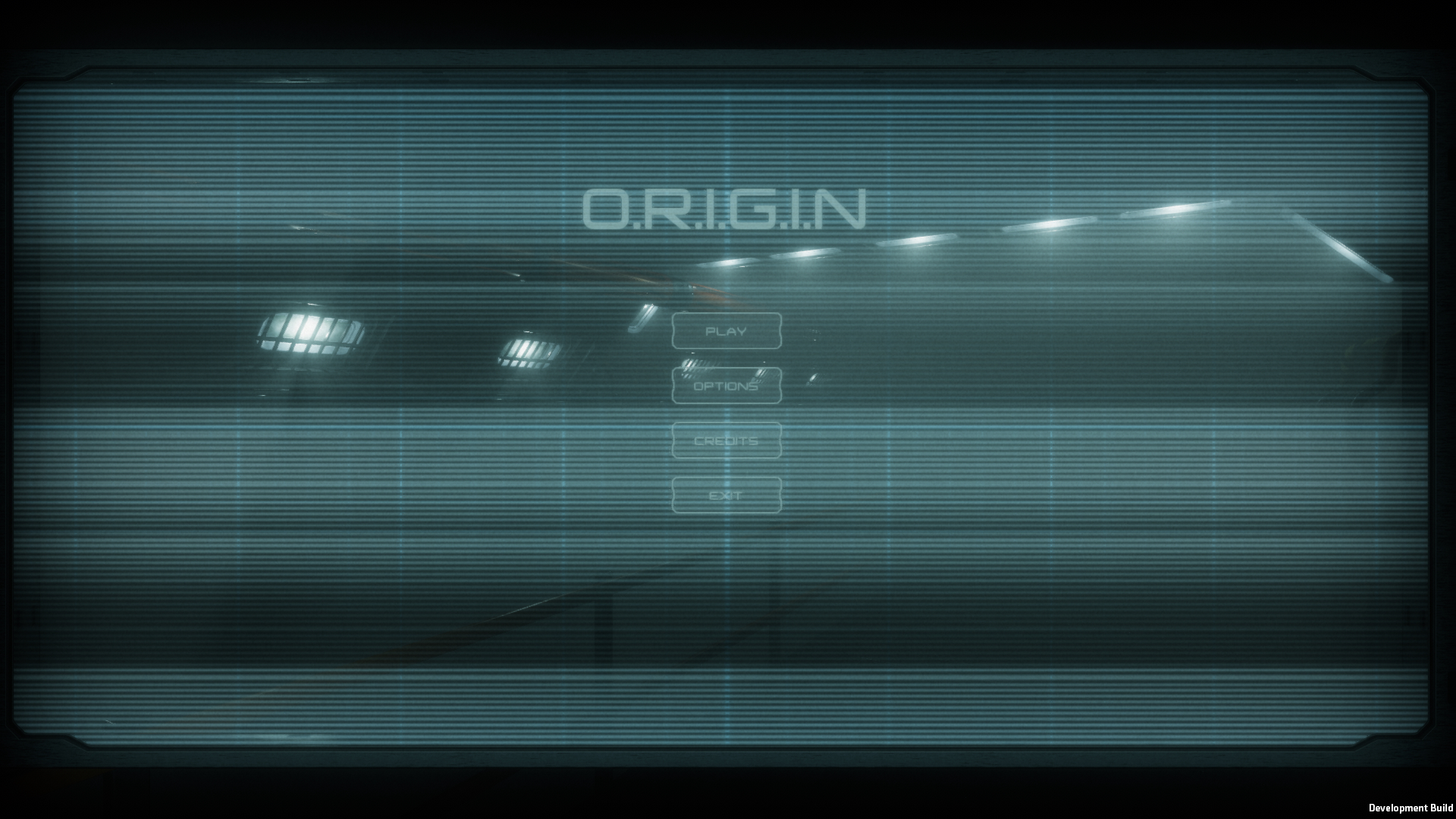 A screenshot of the main menu