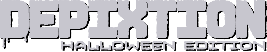 DepixtionHalloween LogoWhite