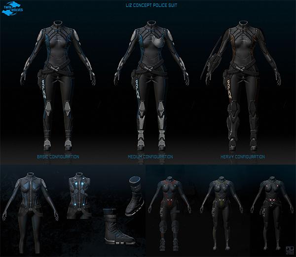 Liz Suit Concept