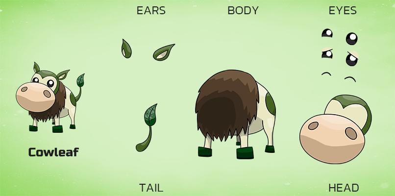 Bodyparts cowleaf