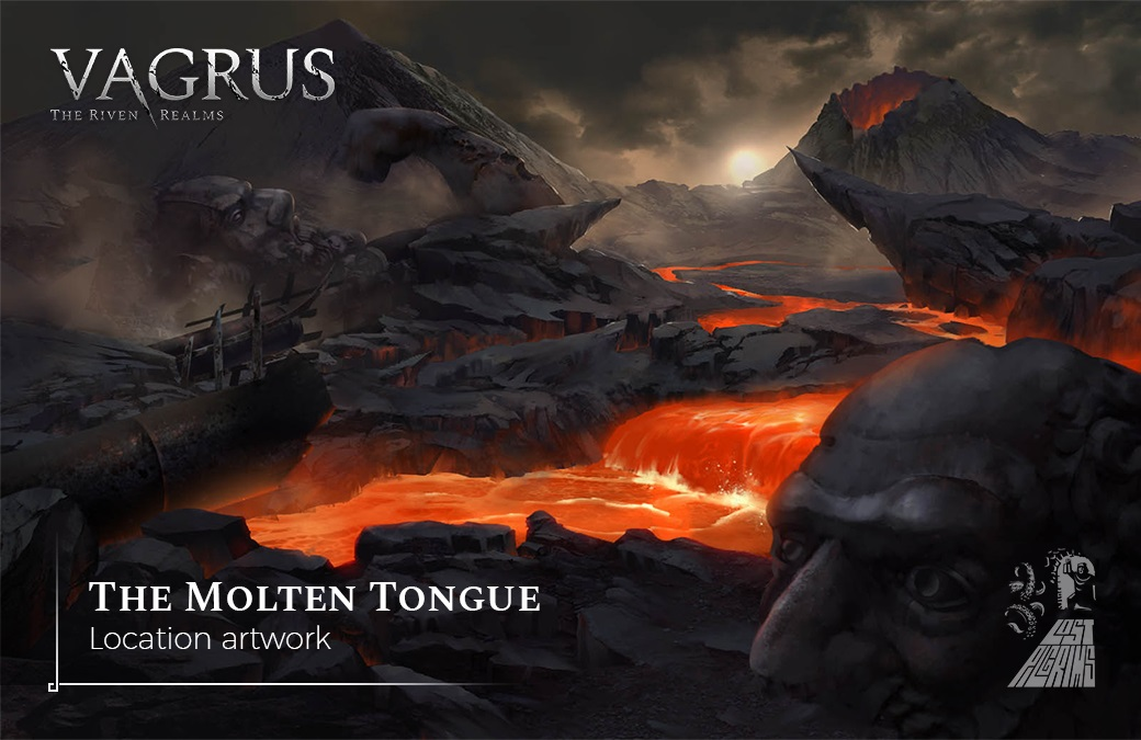 the molten tongue