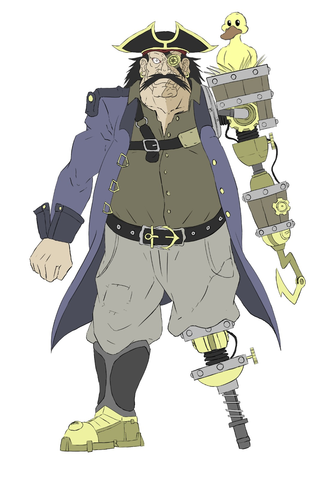 Concept art Pirate