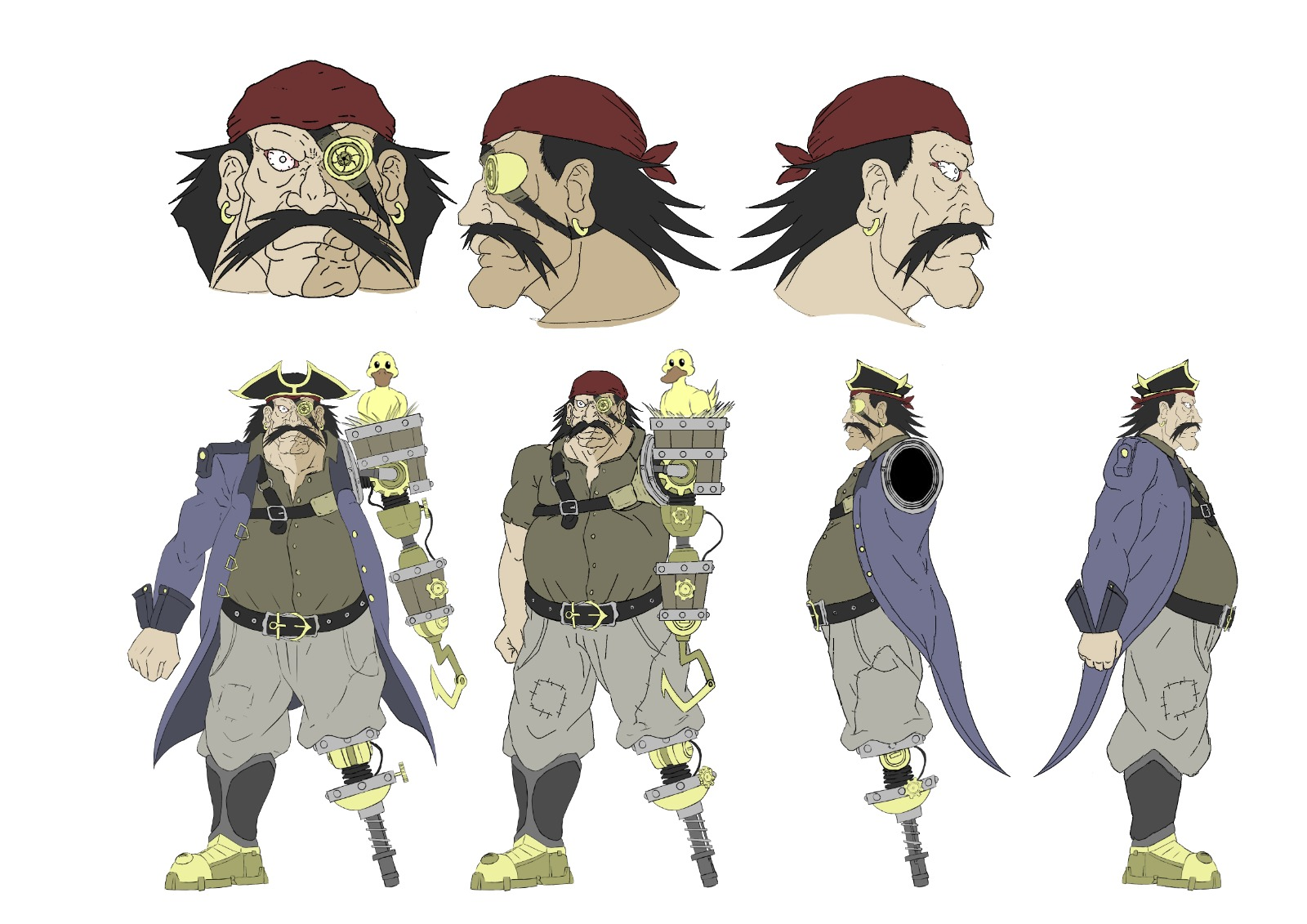 Concept art Pirate 2