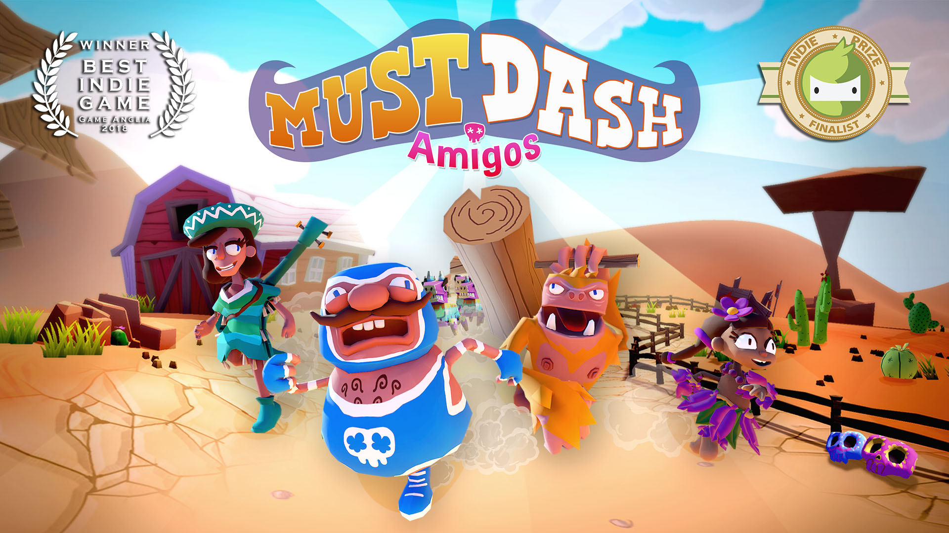 Must Dash Amigos | Game of the Show 2018 (Games Anglia)