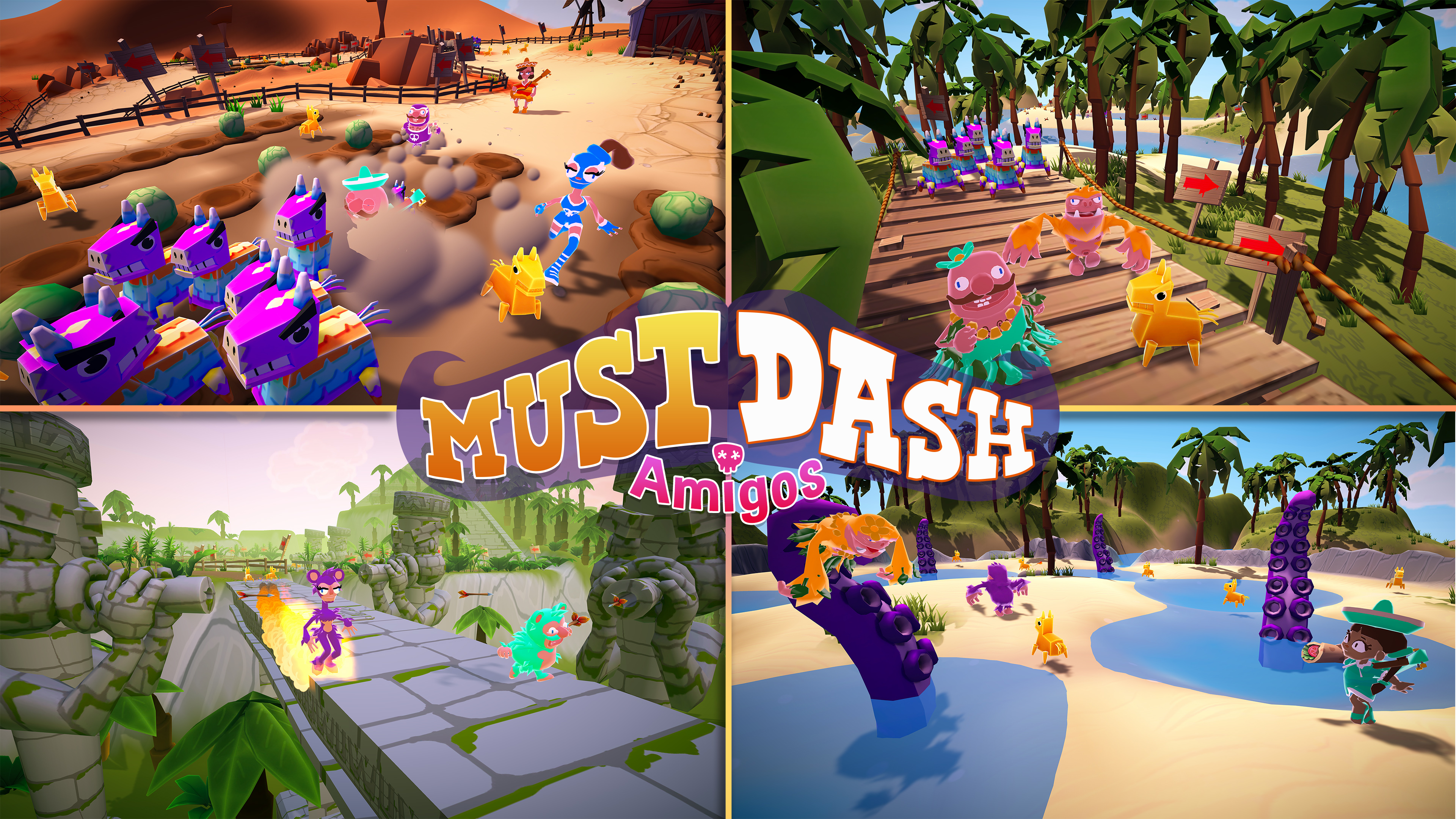 Must Dash Amigos | Screenshots