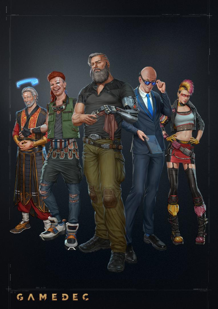 gamedec avatar all