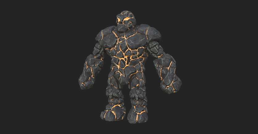 Warriors and Tactics Golem