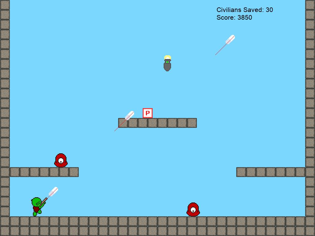 ML prototype game screenshot