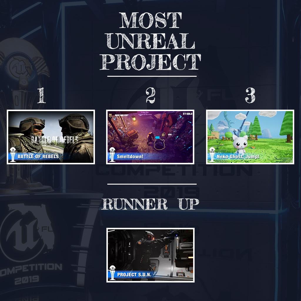 3rdPlace MostUnrealProject