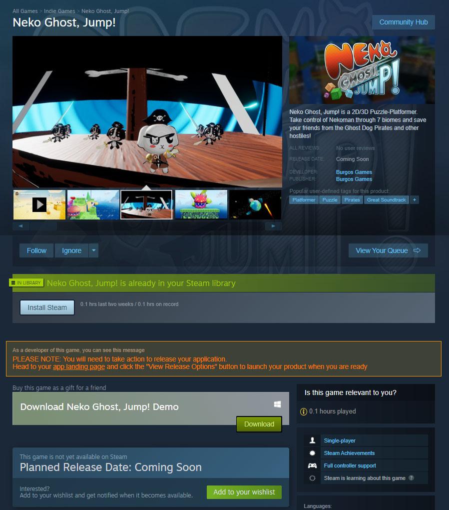 NGJ SteamStorePage