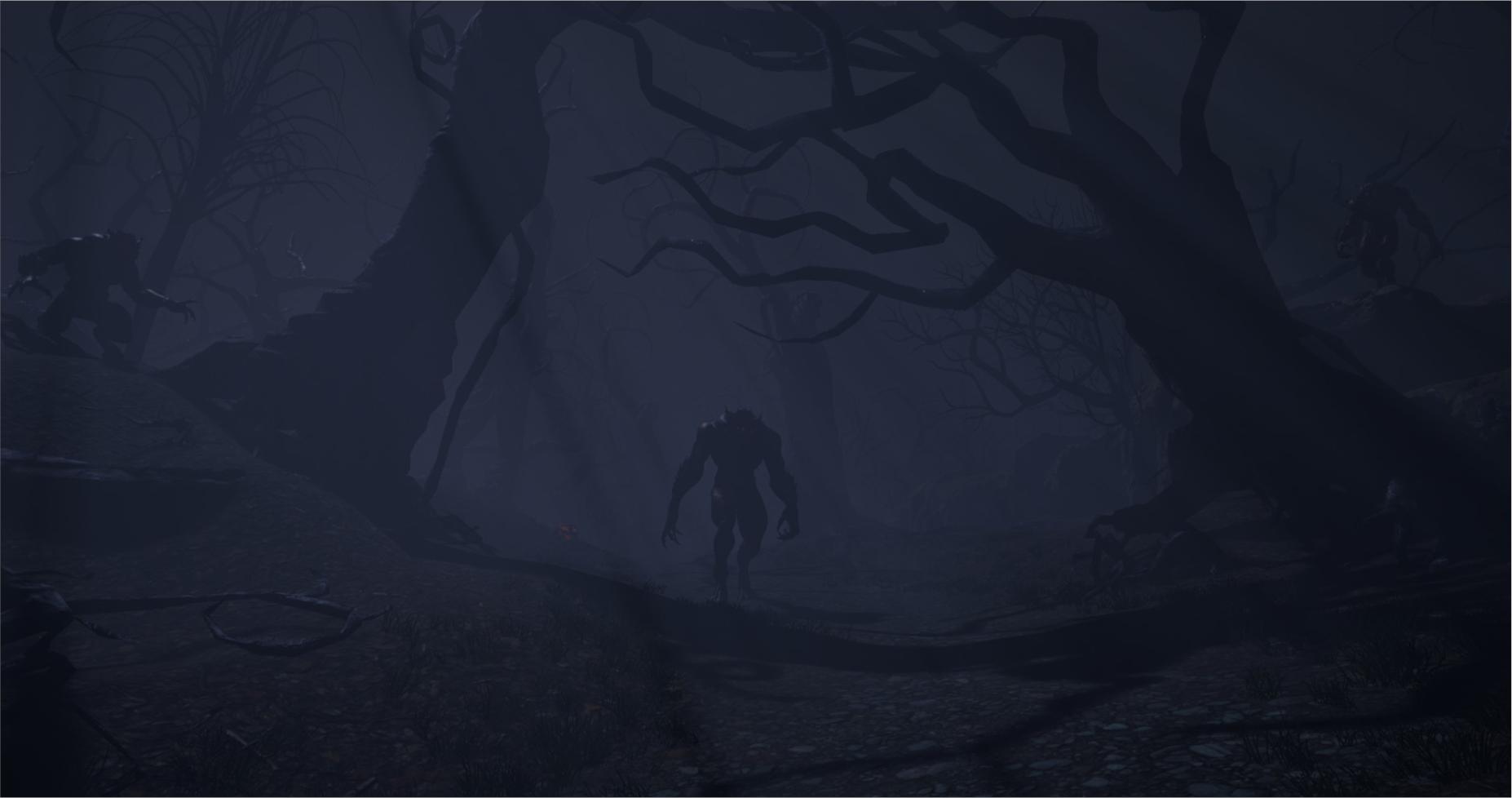 Forrest werewolf
