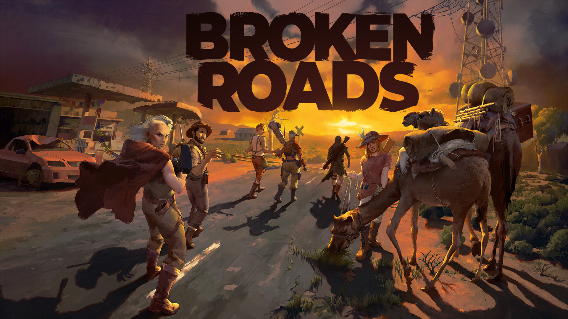 Broken Roads Key Art