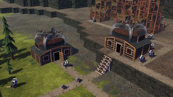 scavengers hut smaller