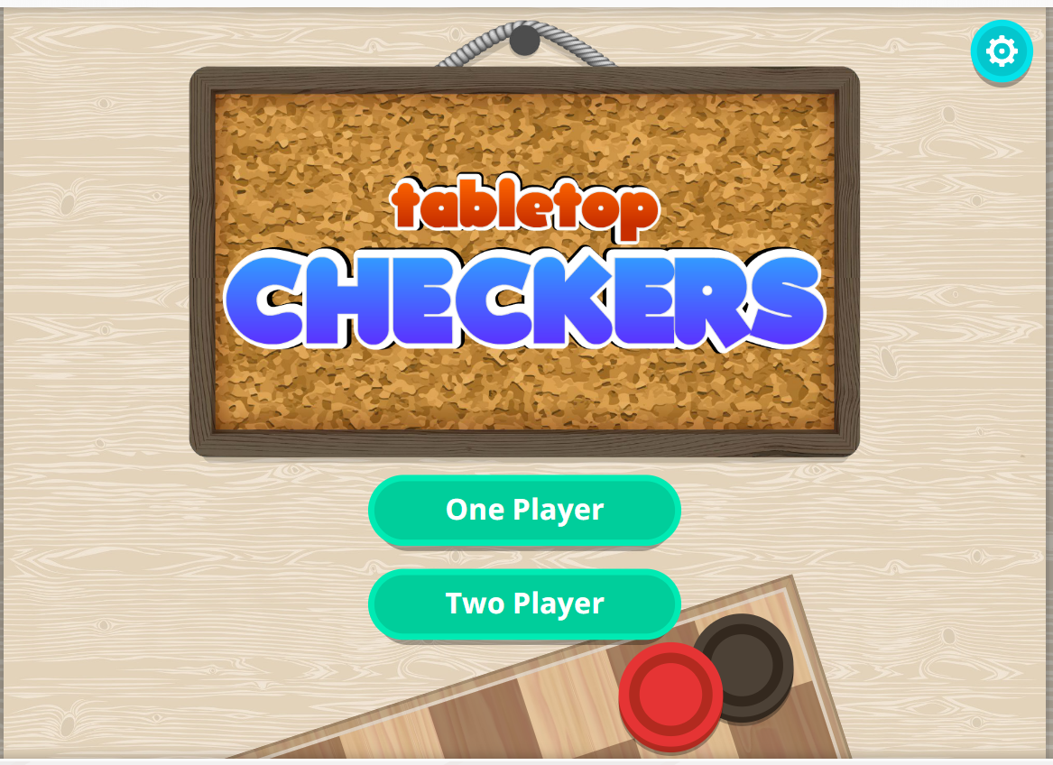 Checkers Title Screen