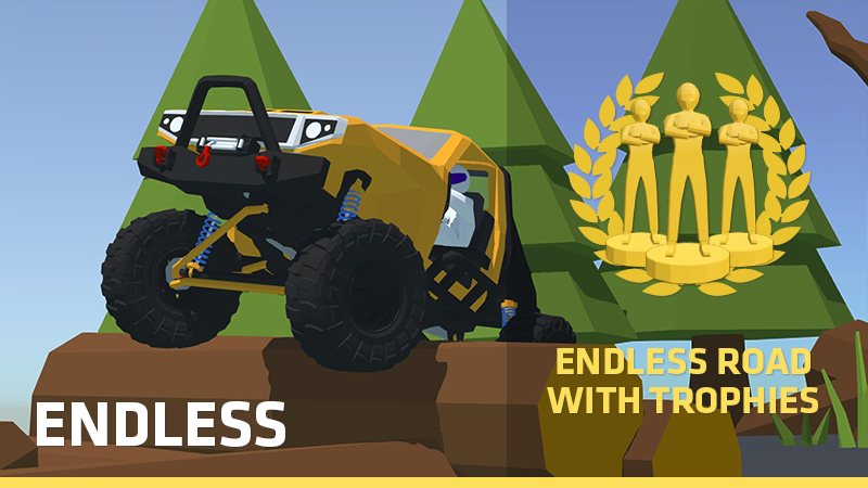 Offroad Mania Endless mode