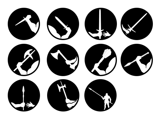 weaponClass icons