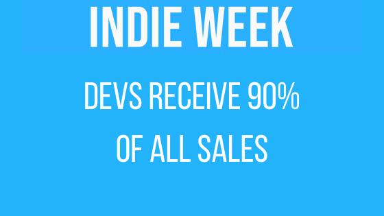 Devs receive 90 of all sales