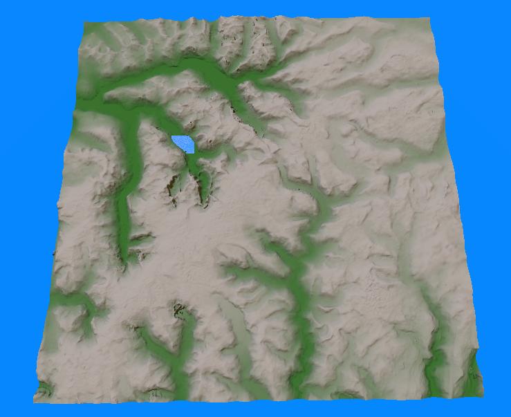 vestland terrain