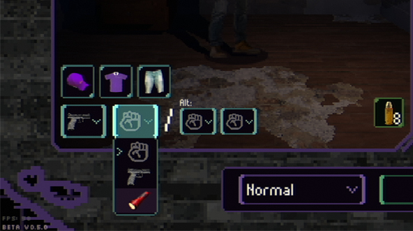 You can now equip your preferred weapon before starting a run.