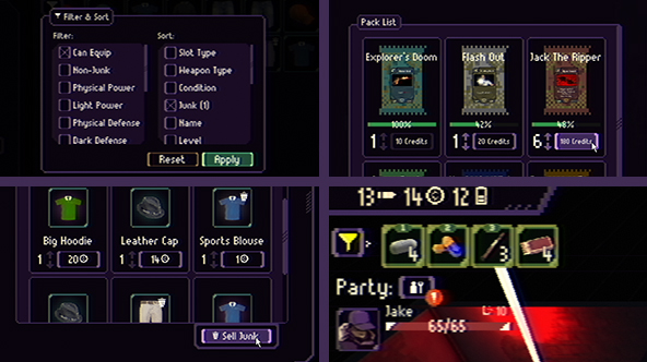 Previews for various UI improvements.