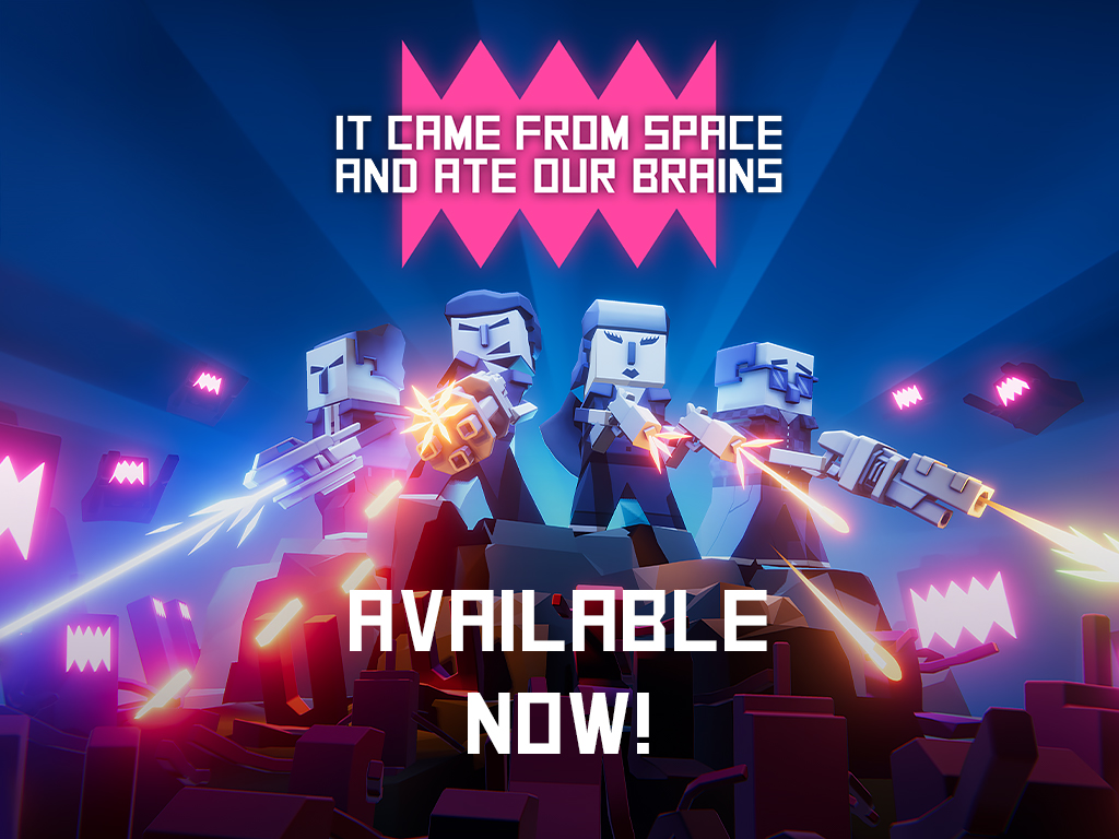 It came from space and ate our brains - available now