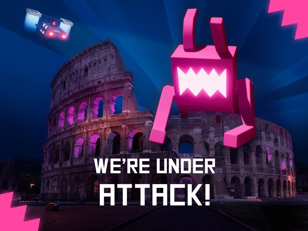 We're under attack