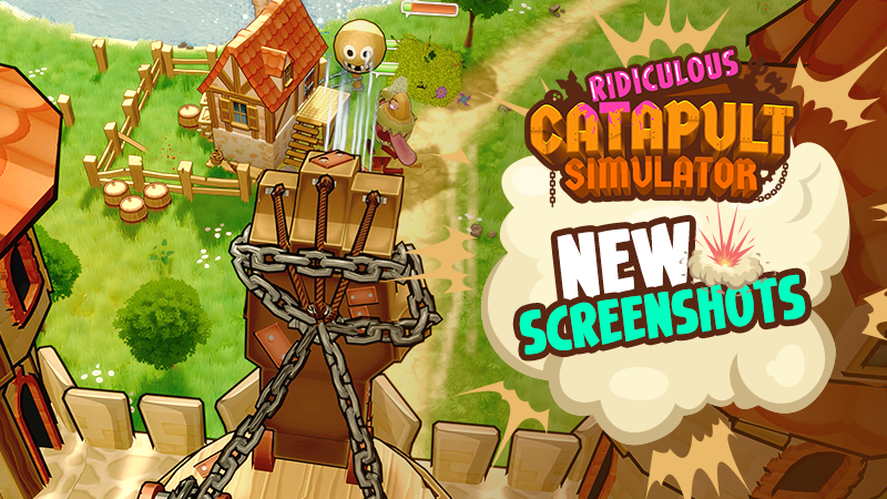 Ridiculous Catapult Simulator - New Screenshots