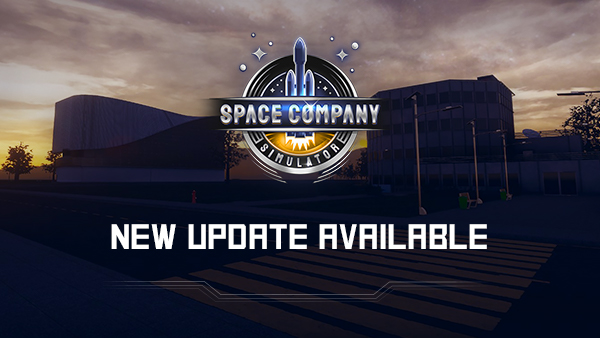 Space Company Simulator - New Update