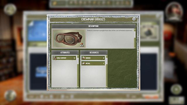 Crewman goggles