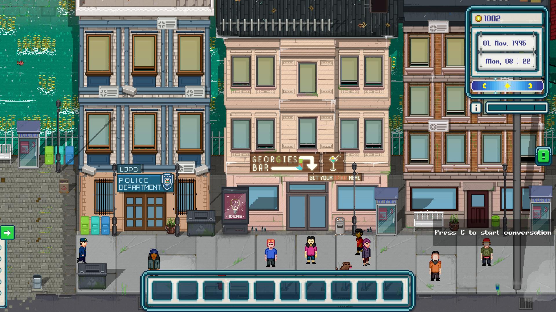 Bars in Urban Tale