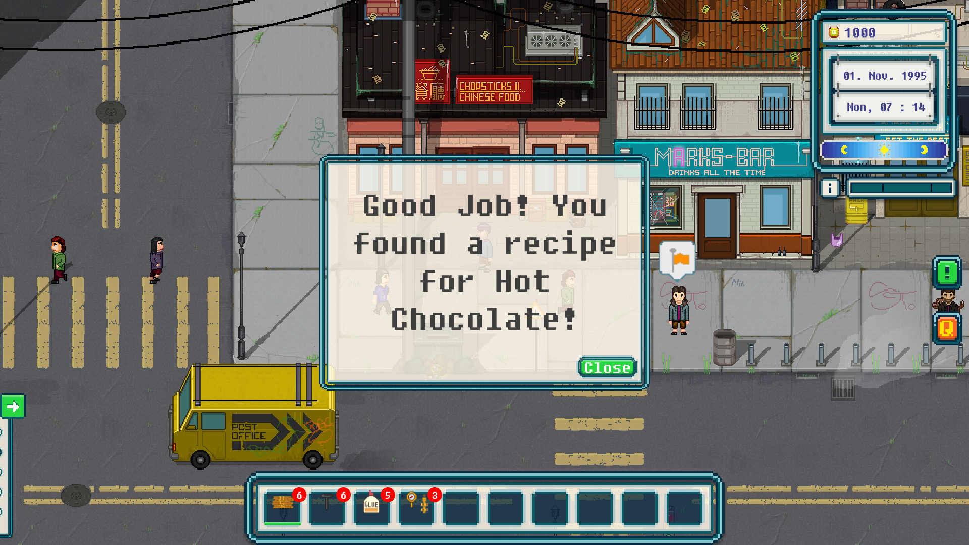 Urban Tale - Finding recipes