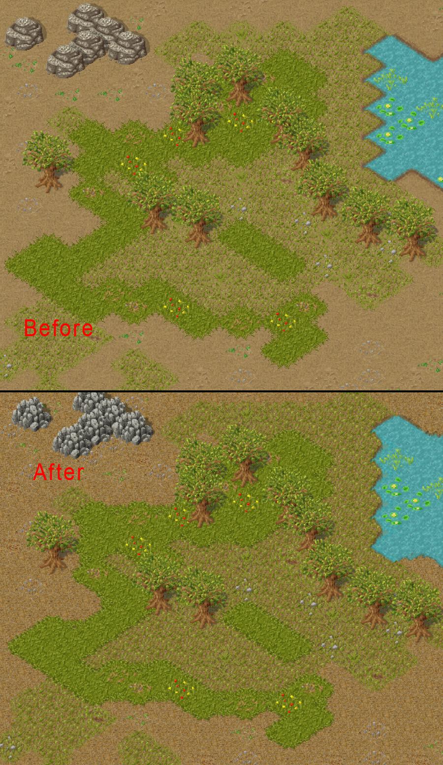 Terrain Comparison