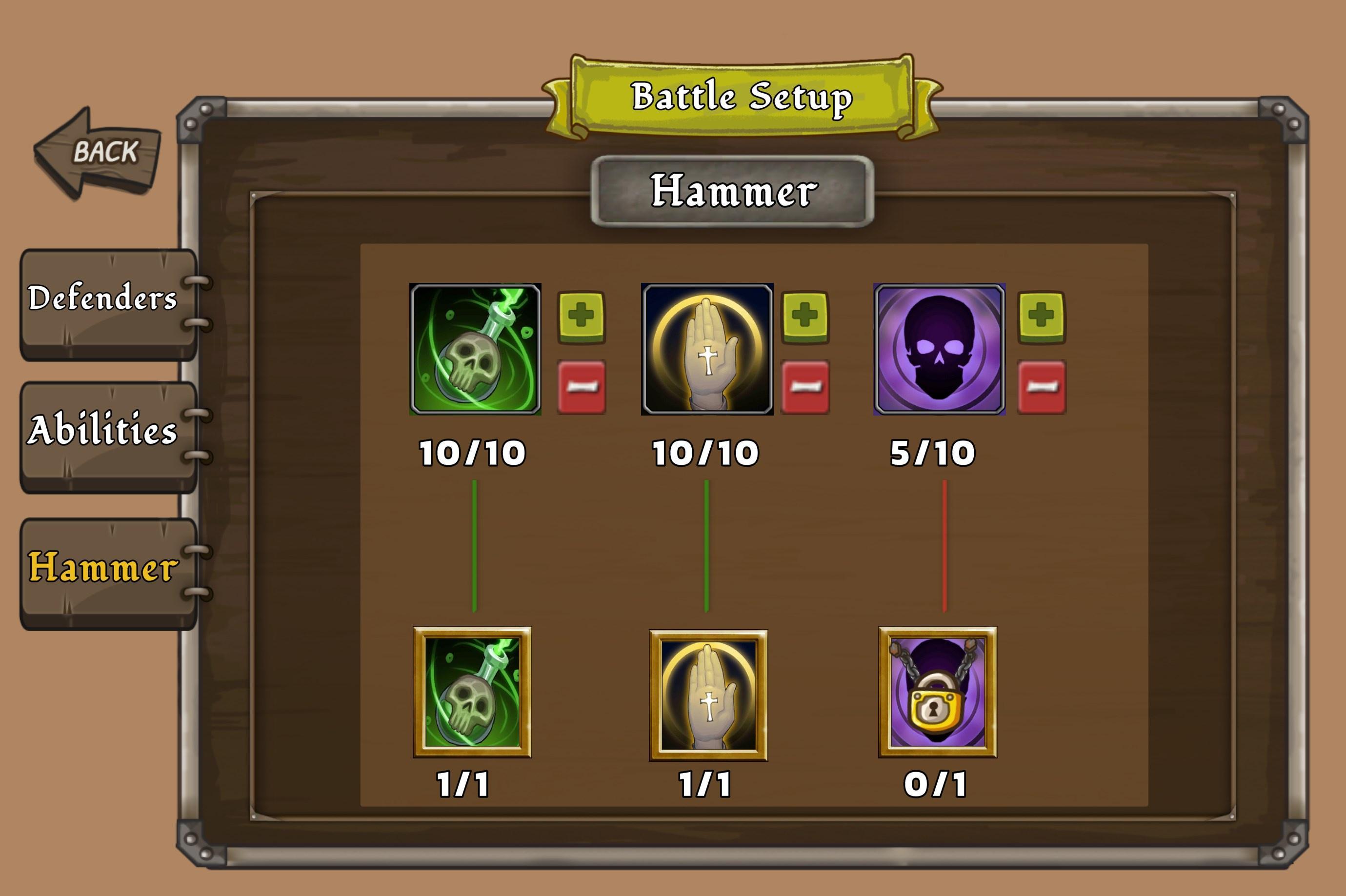 new hammer skills