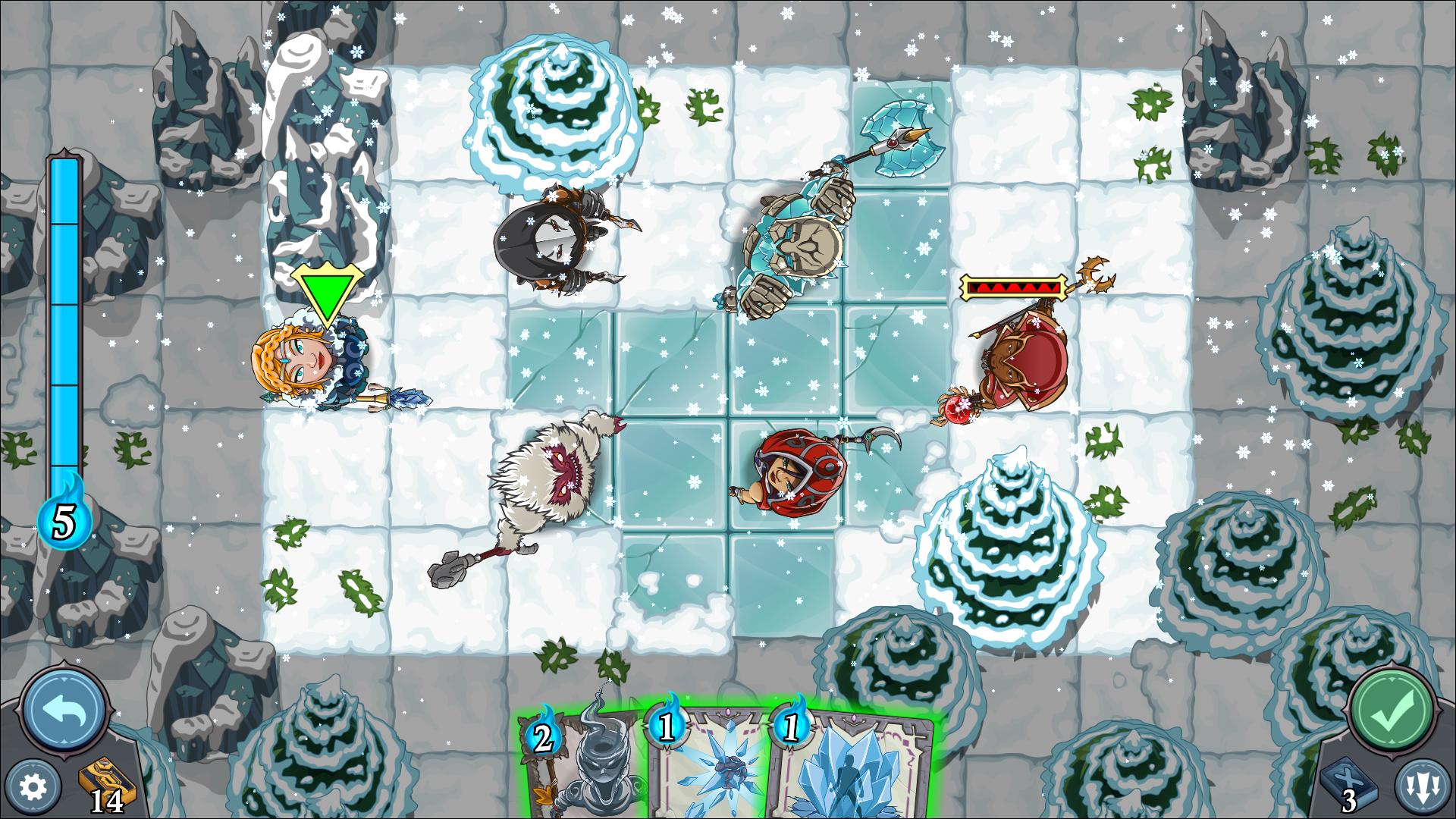 summonersFate iceWorld