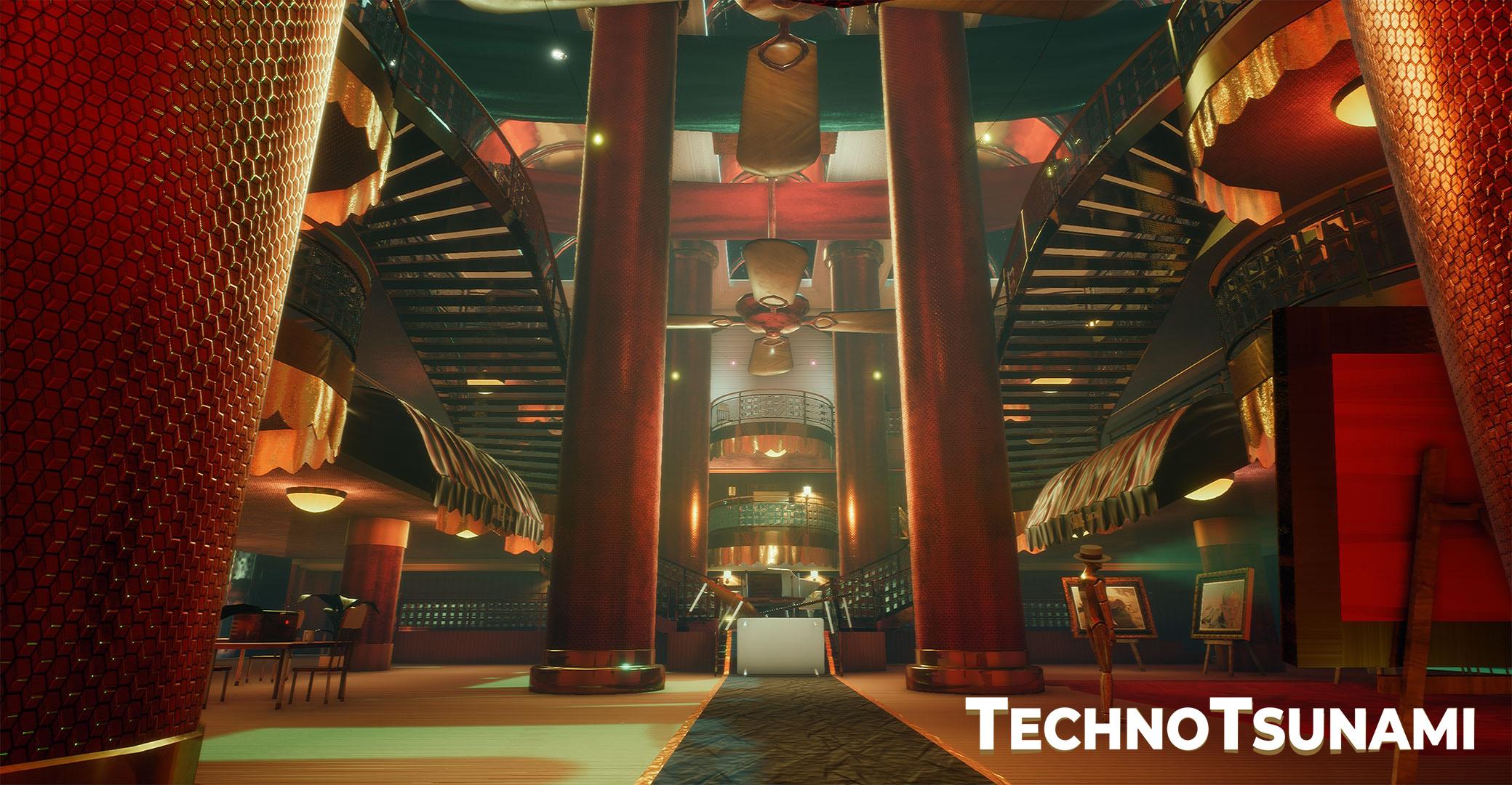 TechnoTsunami Atrium