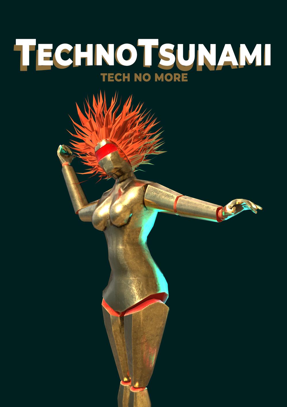 TechnoTsunami Poster