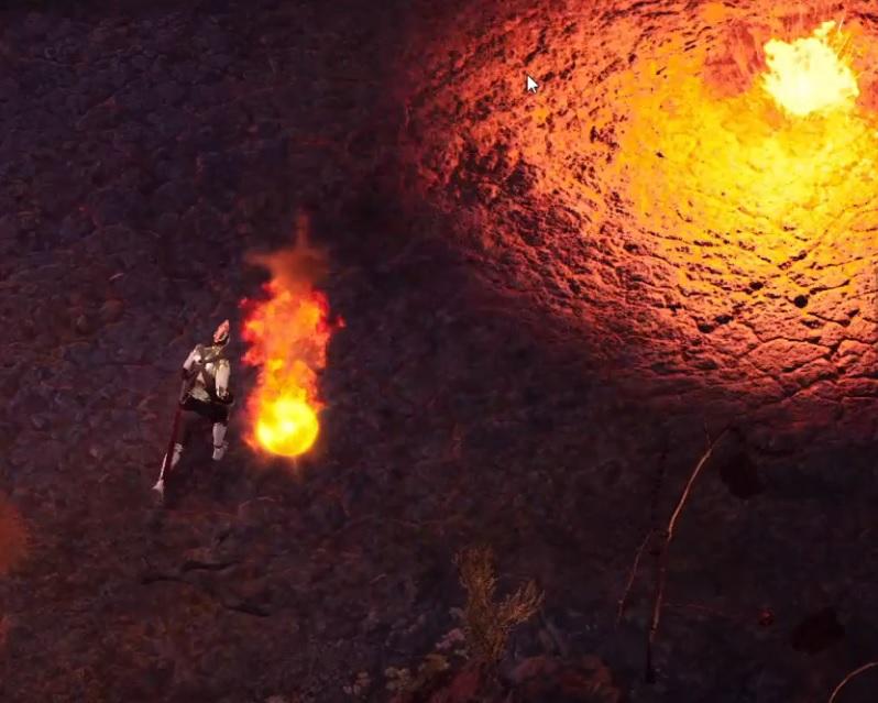 Upheaval Fire