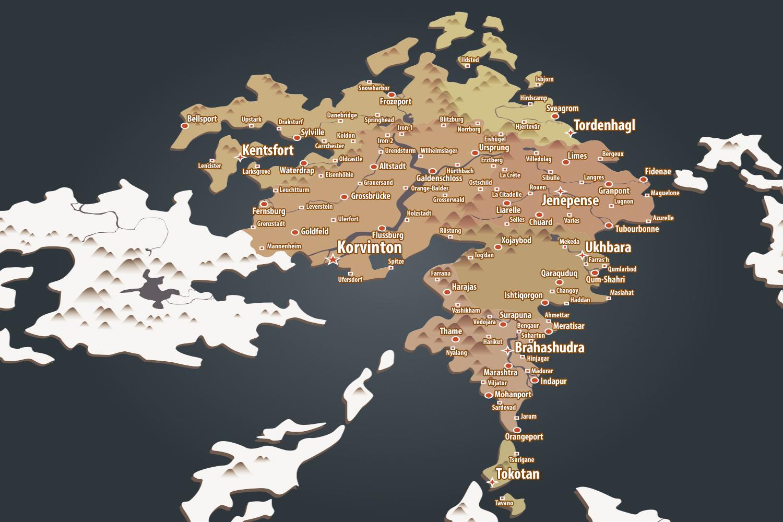country map en