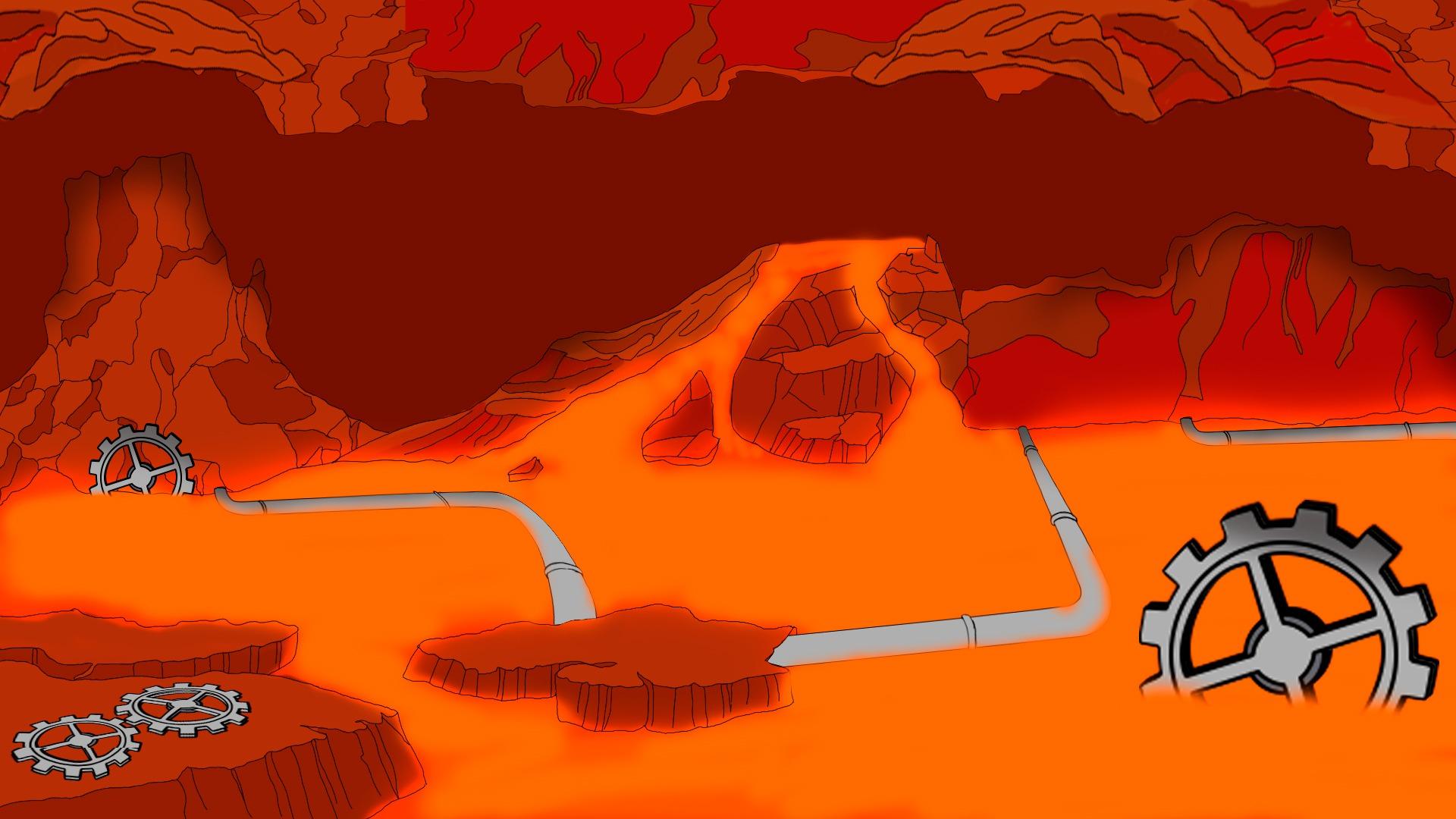 Lava Scene #1