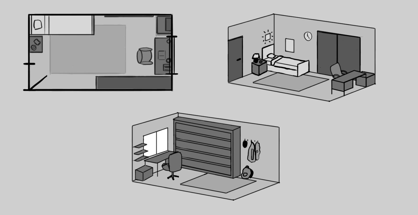 1   Room Quick Sketch