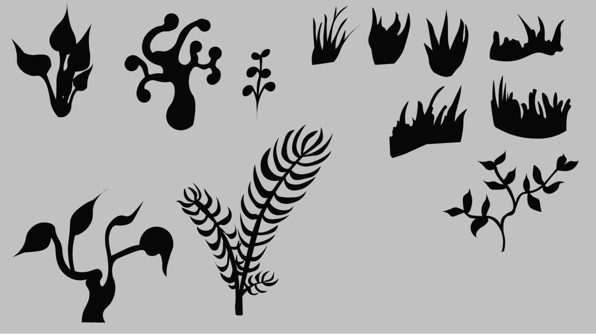 Plants Silluetes V1