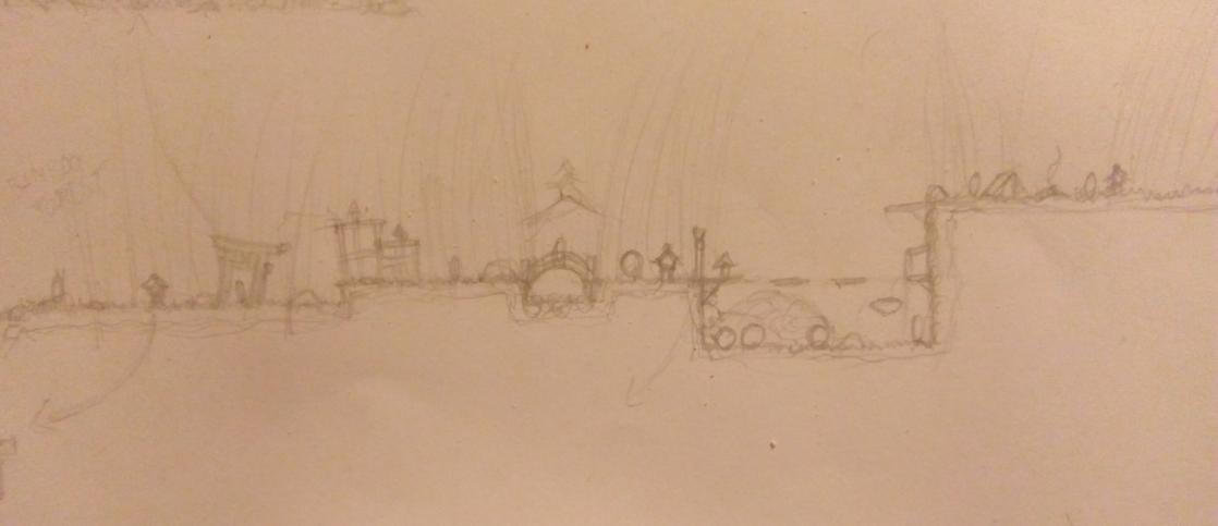 first level sketch