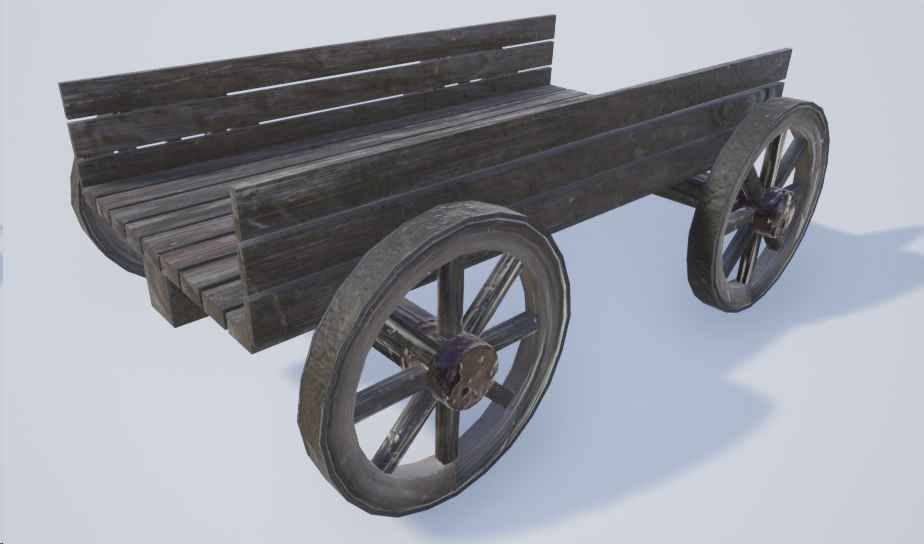 The cart used in game as environment
