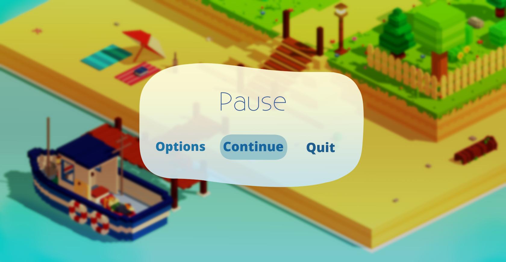 Pause screen 1